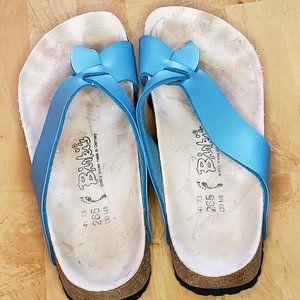 BIRKENSTOCK Mayari Turquoise Blue Thong Sandals